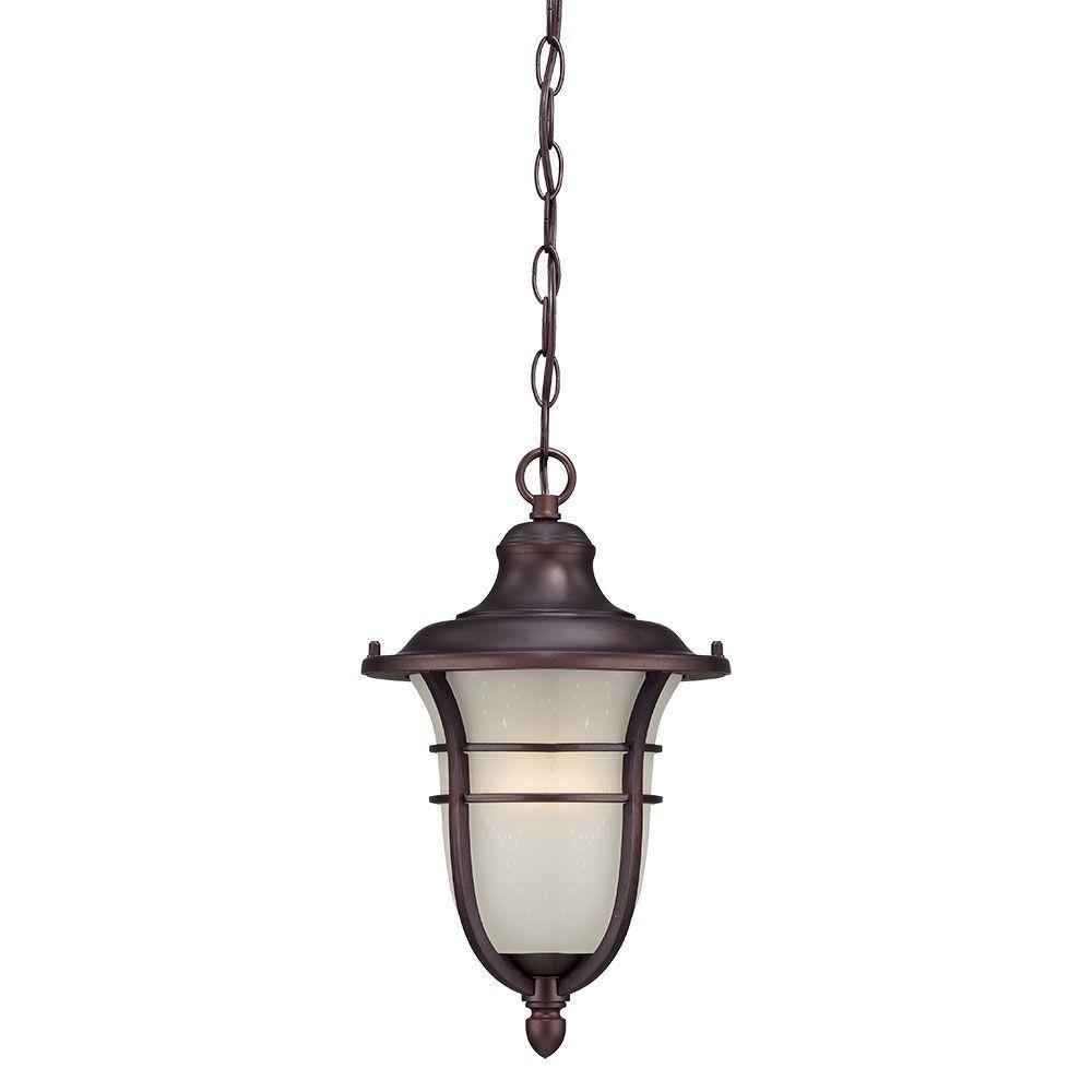Acclaim Lighting Montclair Collection 1-Light Architectural Bronze Outdoor Hanging Lantern