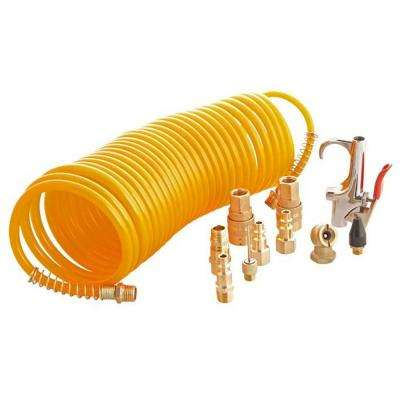 14-Piece Air Hose and Accessory Kit