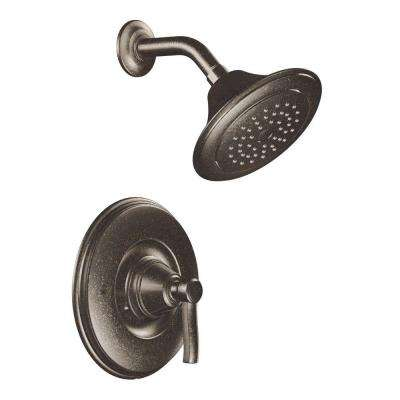 Rothbury Posi-Temp 1-Handle Shower Only in Oil Rubbed Bronze (Valve Not Included)