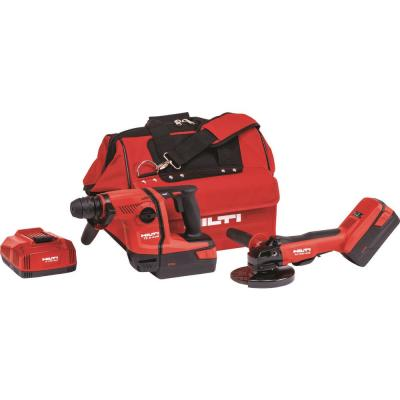 36-Volt Lithium-Ion Cordless SDS Chuck Hammer Drill/6 in. Grinder Combo Kit (2-Tool)