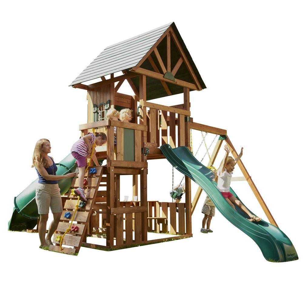 Swing-N-Slide Playsets Southampton Wood Complete Play Set