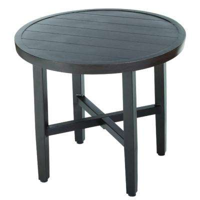 Woodbury All-Weather Wicker Outdoor Patio Bistro Table