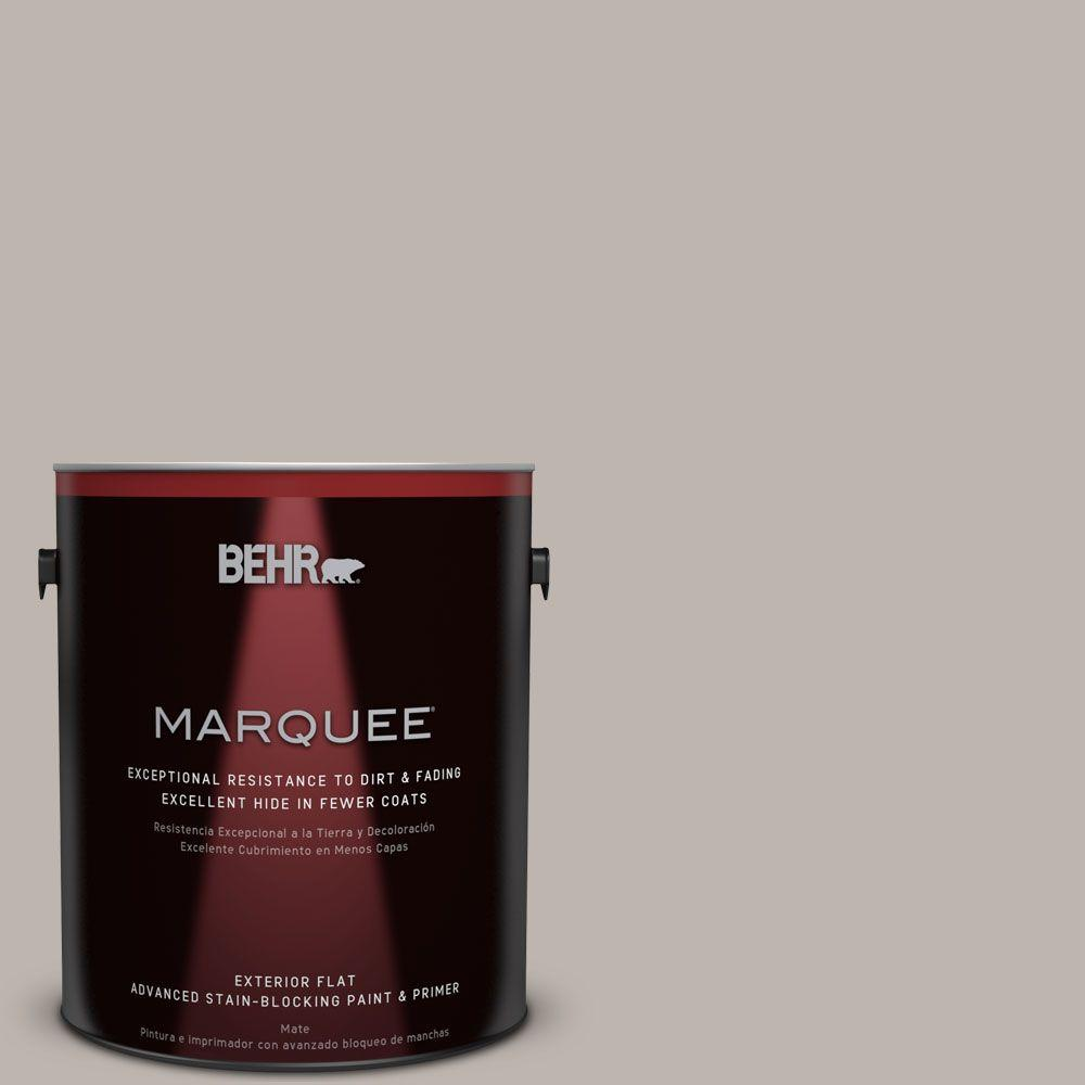 BEHR MARQUEE 1-gal. #PPU18-12 Graceful Gray Flat Exterior Paint