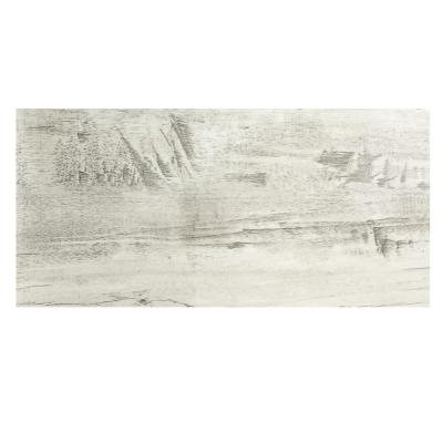 Nature Birchwood Gray Field 7 in. x 16 in. Wood Look Glass Wall Tile (6 Pc /Pack)