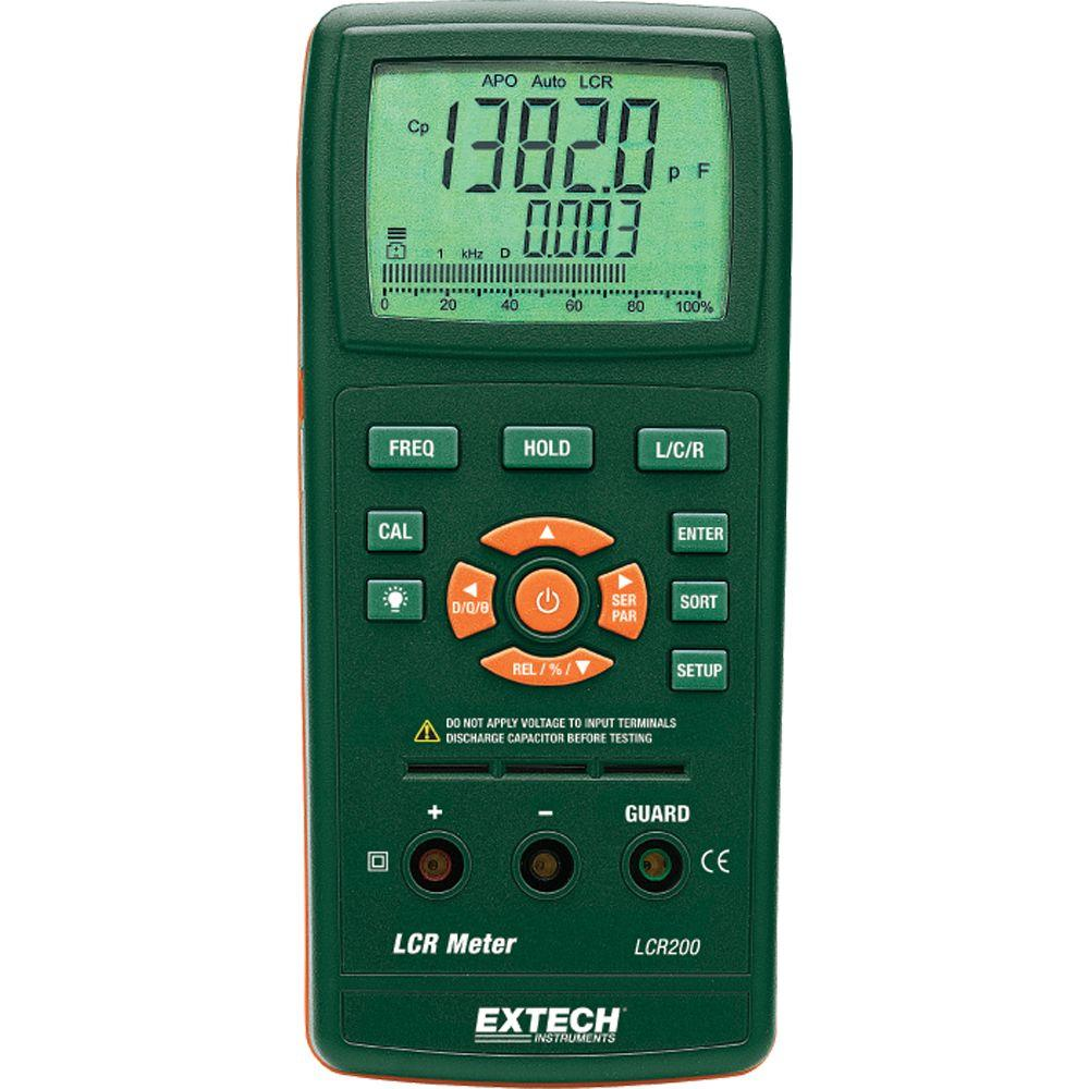 Using An Lcr Meter : Extech instruments passive component lcr meter