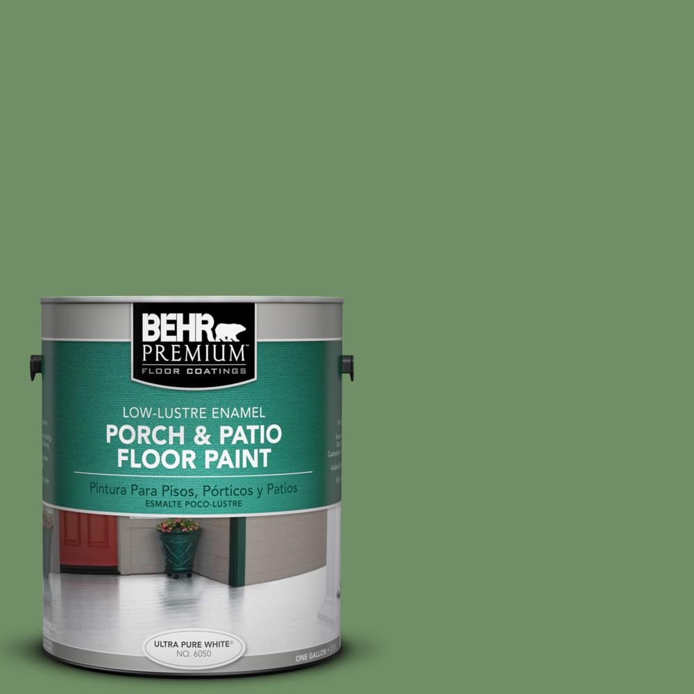 1 gal. #M400-6 Mixed Veggies Low-Lustre Porch and Patio Floor Paint