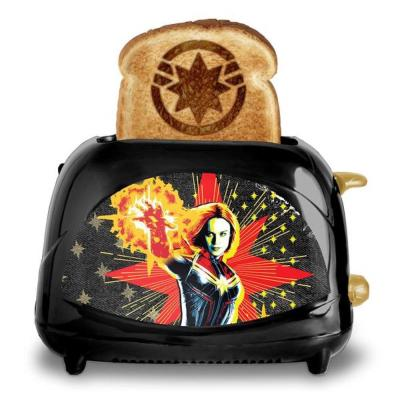 Captain Marvel Elite Toaster Black