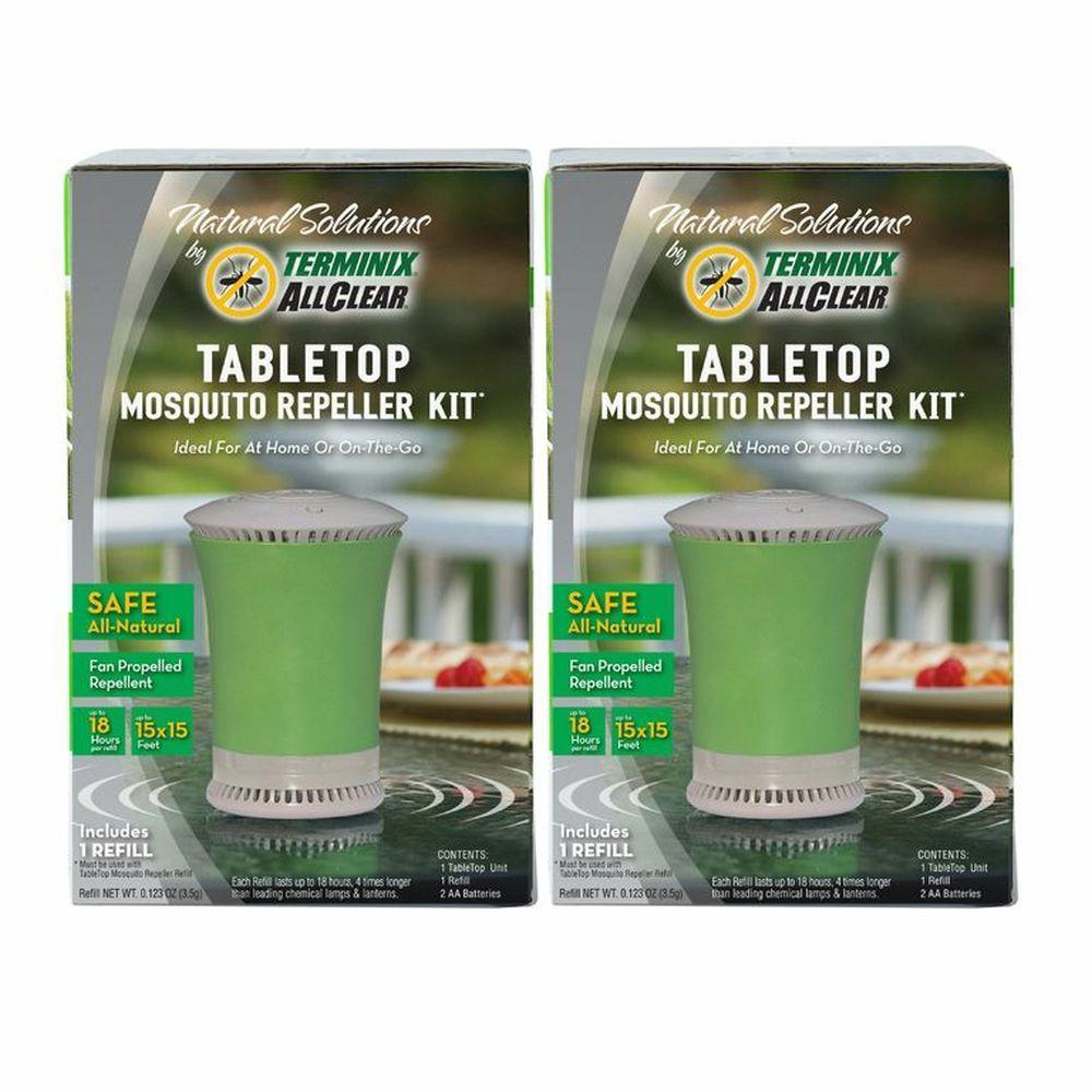 Terminix ALLCLEAR TableTop Mosquito Repeller Kit (2-Pack)