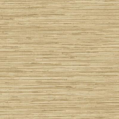 Faux Grass Cloth Wallpaper in Shades of Brown/Beige/Tans and White