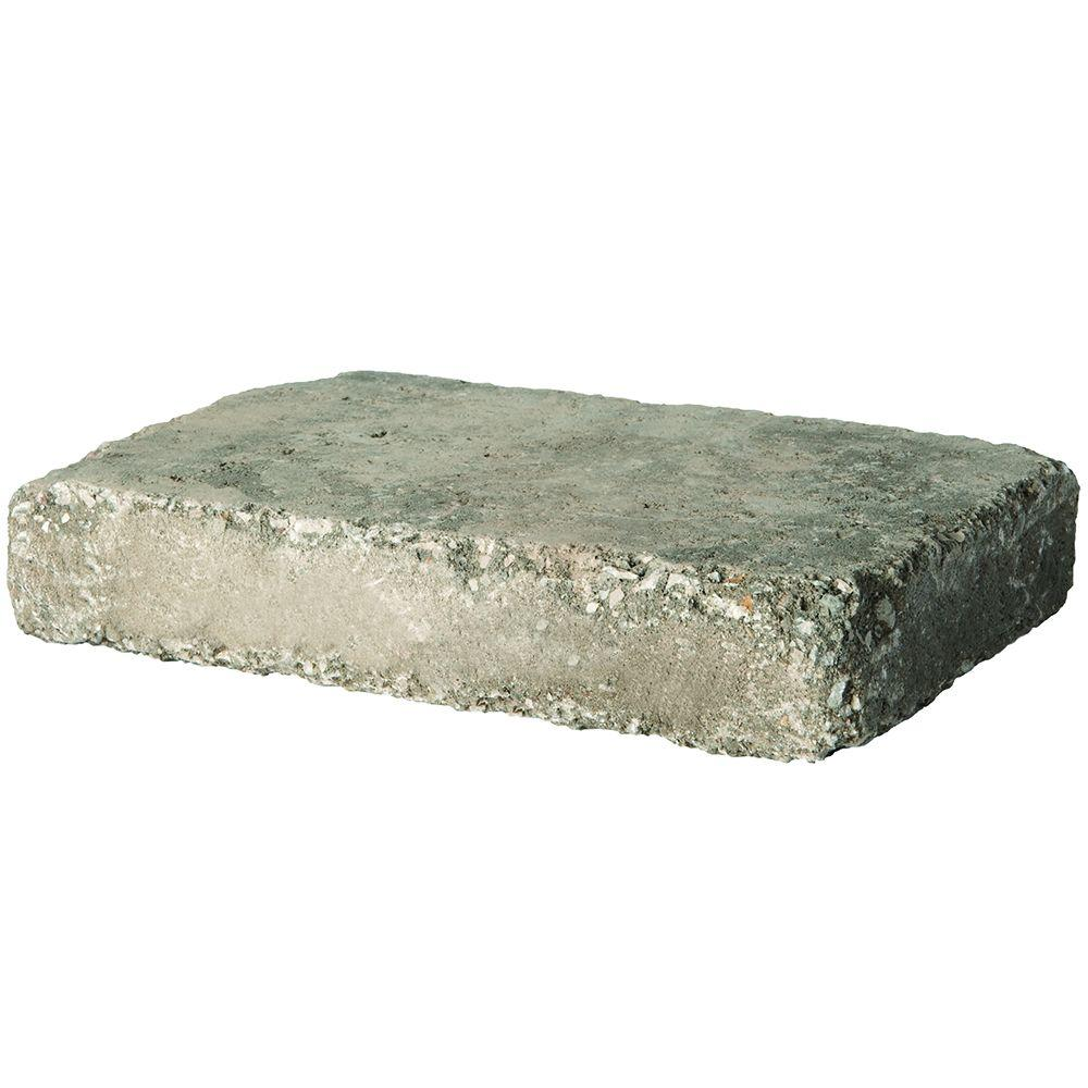 Pavestone RumbleStone Rec 10.5 in. x 7 in. x 1.75 in. Greystone ...