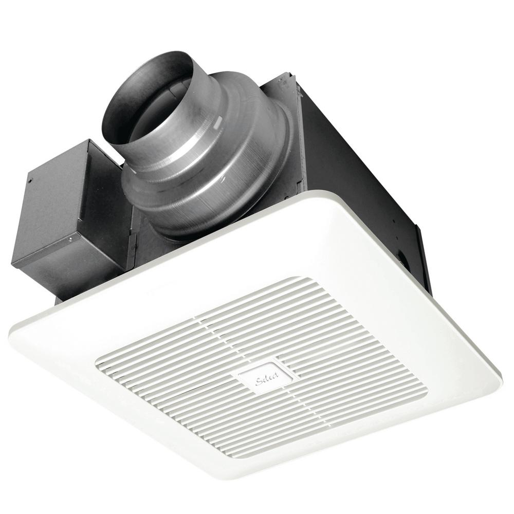 Through Wall Bathroom Exhaust Fans: Broan 270 CFM Through-the-Wall Exhaust Fan-508