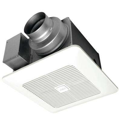 WhisperGreen Select Pick-A-Flow 50/80 or 110 CFM Exhaust Fan w/multispeed Flex-Z Fast bracket 4 or 6 in. Duct Adapter