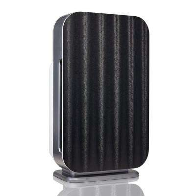 Customizable Air Purifier with HEPA-Silver Filter to Remove Allergies Mold and Bacteria in Black