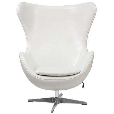 Custom White Accent Chair Property
