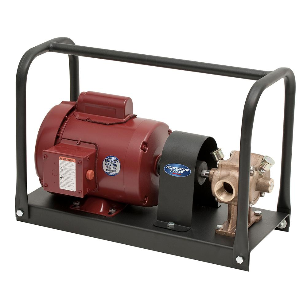 Superior Pump 1/2 HP Transfer Kit with BP20X Bronze Transfer Pump