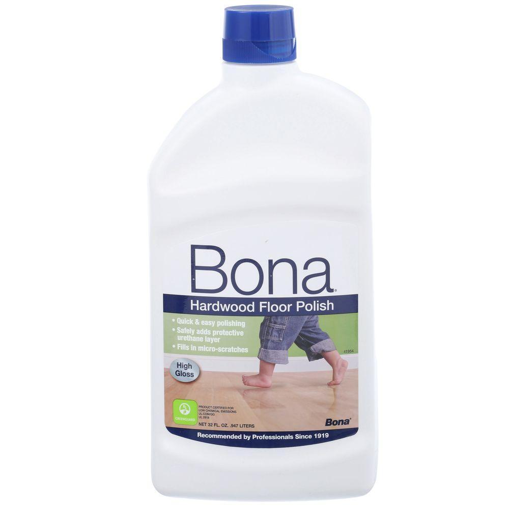 Bona 32 Oz High Gloss Hardwood Floor Polish Wp510051002