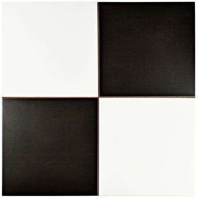 Checker 17-5/8 in. x 17-5/8 in. Ceramic Floor and Wall Tile (11.1 sq. ft. / case)