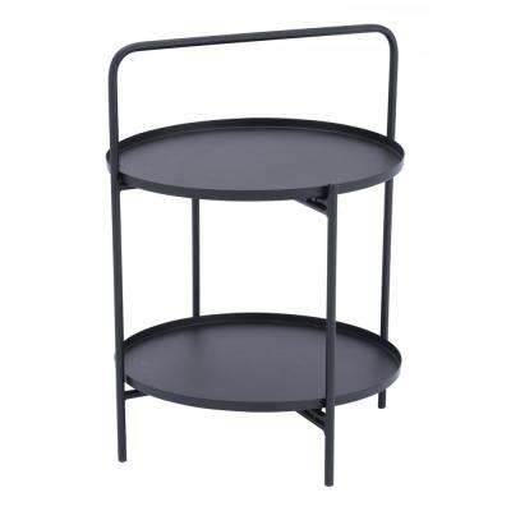 Leve Black End Table