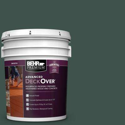 5 gal. #SC-114 Mountain Spruce Smooth Solid Color Exterior Wood and Concrete Coating