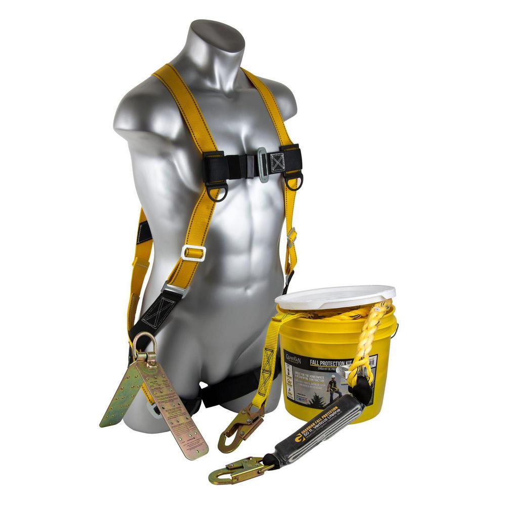 Rooftop Safe-Tie Bucket Kit