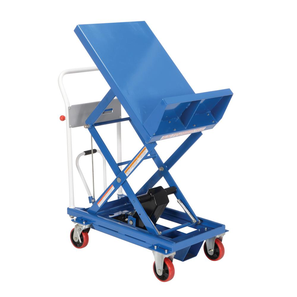 Vestil 400 lb. Capacity Lift and Tilt Cart with Sequence ...