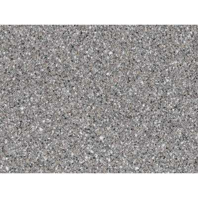 2 in. x 2 in. Solid Surface Countertop Sample in Platinum
