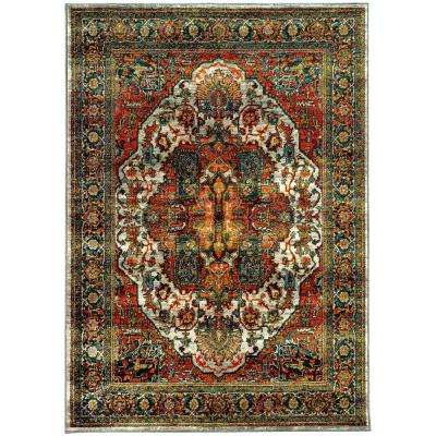 Flanders Rust 4 ft. x 5 ft. Area Rug