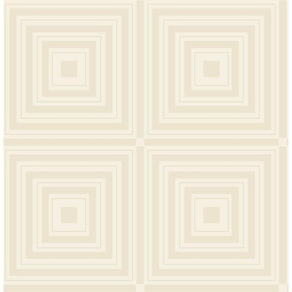Jackson Platinum Luminous Geometric Paper Strippable Wallpaper Roll Covers 56 4 Sq Ft Br2763 87316 The Home Depot