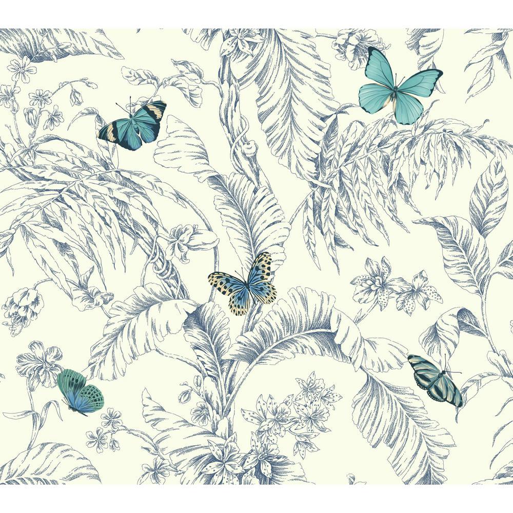 Ashford Toiles Papillon Wallpaper