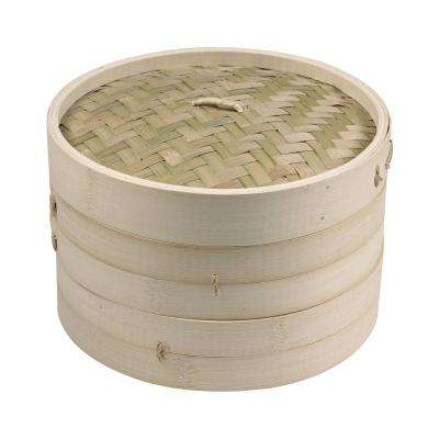 Dim Sum 4-Piece Bamboo Steamer Set