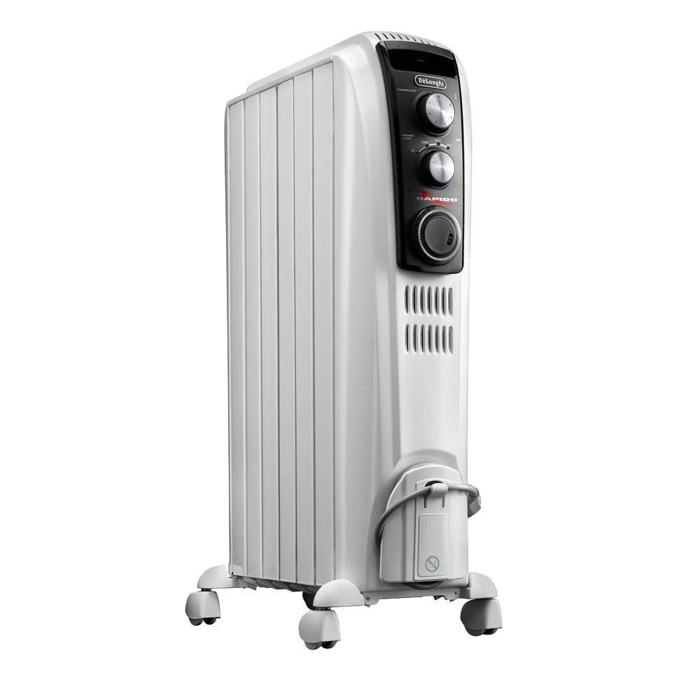 DeLonghi Full Room Oil Filled Radiant Portable Heater. DeLonghi Full Room Oil Filled Radiant Portable Heater TRD40615T