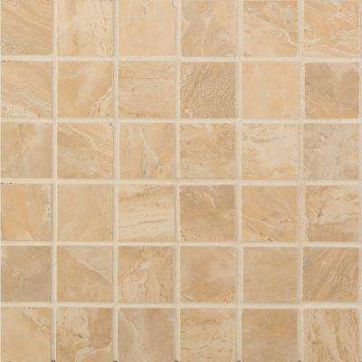 Onyx Sand 12 in. x 12 in. x 10mm Porcelain Mesh-Mounted Mosaic Tile (8 sq. ft. / case)