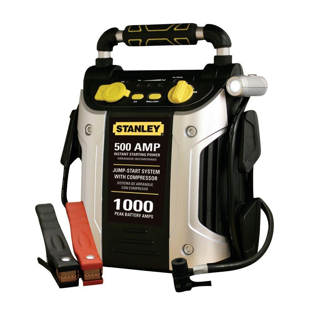500 Amp Jump Starter with Compressor