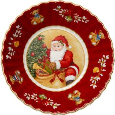 Toy's Fantasy 6.25 in. Small Bowl Santa With Gifts