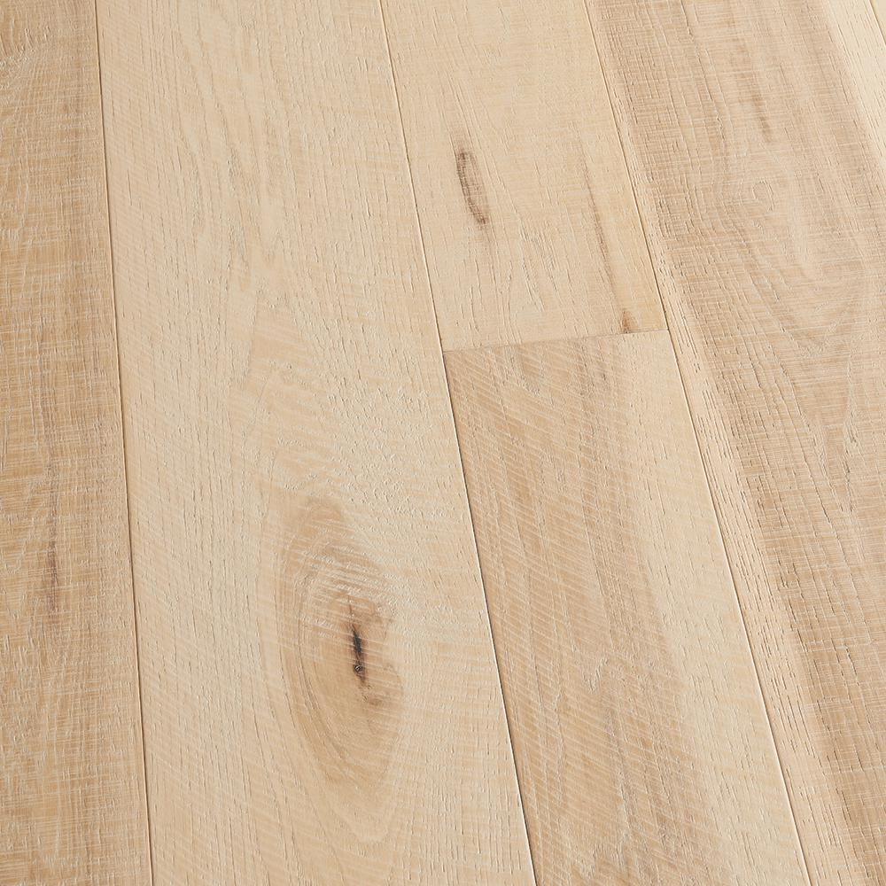 Malibu Wide Plank Hickory Crescent 3/8 in. T x 4 in. and 6 in. W x Varying L Engineered Click Hardwood Flooring (19.84 sq. ft. / case)
