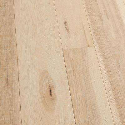 Hickory Crescent 3/8 in. T x 4 in. and 6 in. W x Varying L Engineered Click Hardwood Flooring (19.84 sq. ft./case)