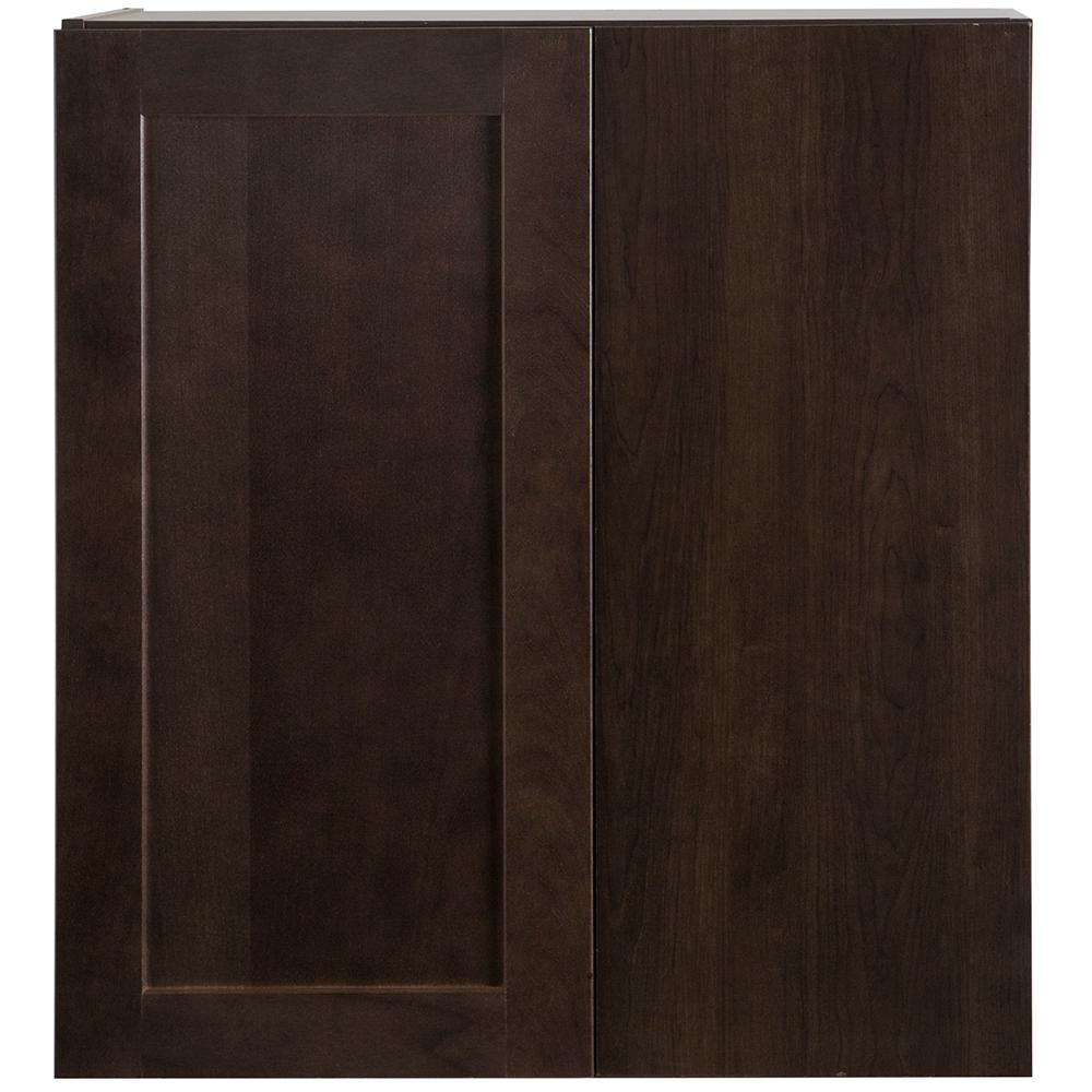 Cabinet Corp Dusk Kitchen: Hampton Bay Cambridge Assembled 27x12.5x30 In. Blind Wall