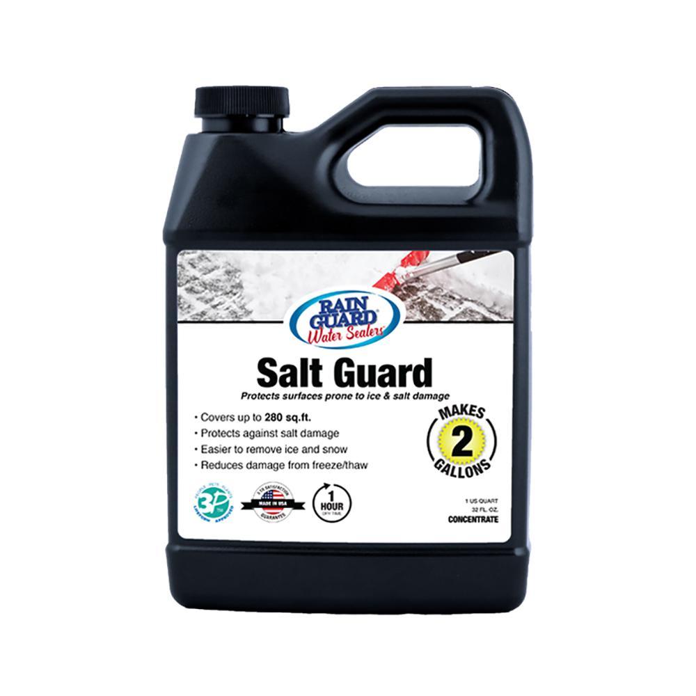 32 oz. Salt Guard Sealer Multi-Surfaces Protection for Ice and Salt Damage (Makes 2 gal.)