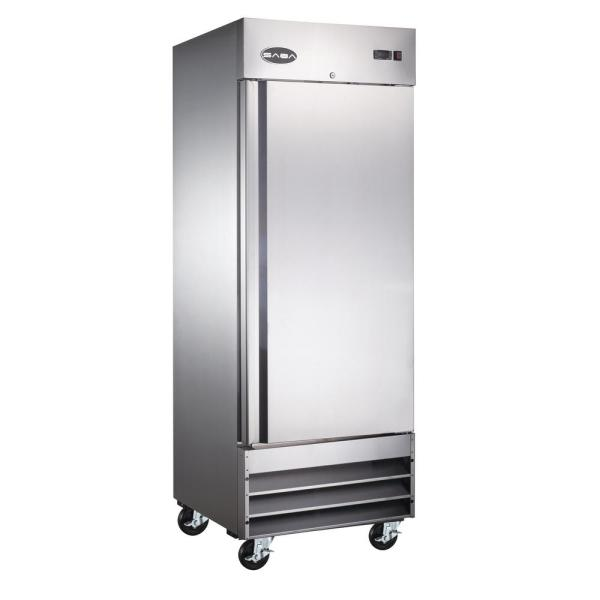 23.0 cu. ft. One Door Commercial Reach In Upright Freezer in Stainless Steel