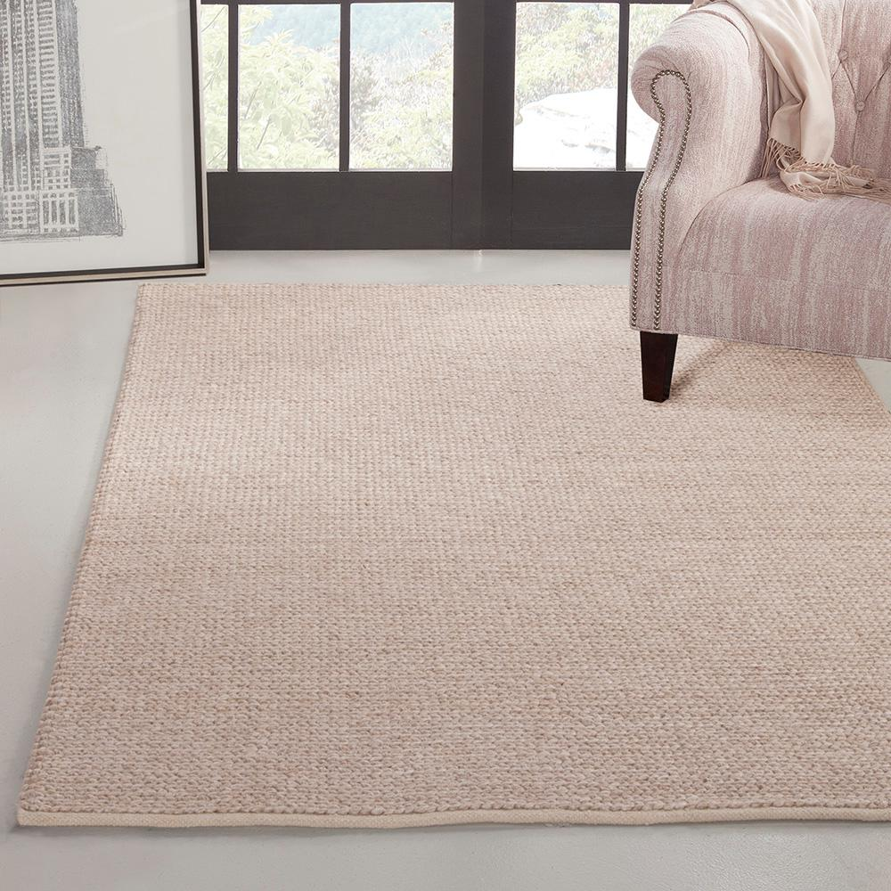 Pixley braided natural 8 ft x 10 ft area rug