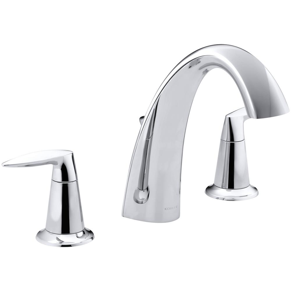 Alteo 8 in. 2-Handle High Arc Bathroom Faucet Trim Kit with