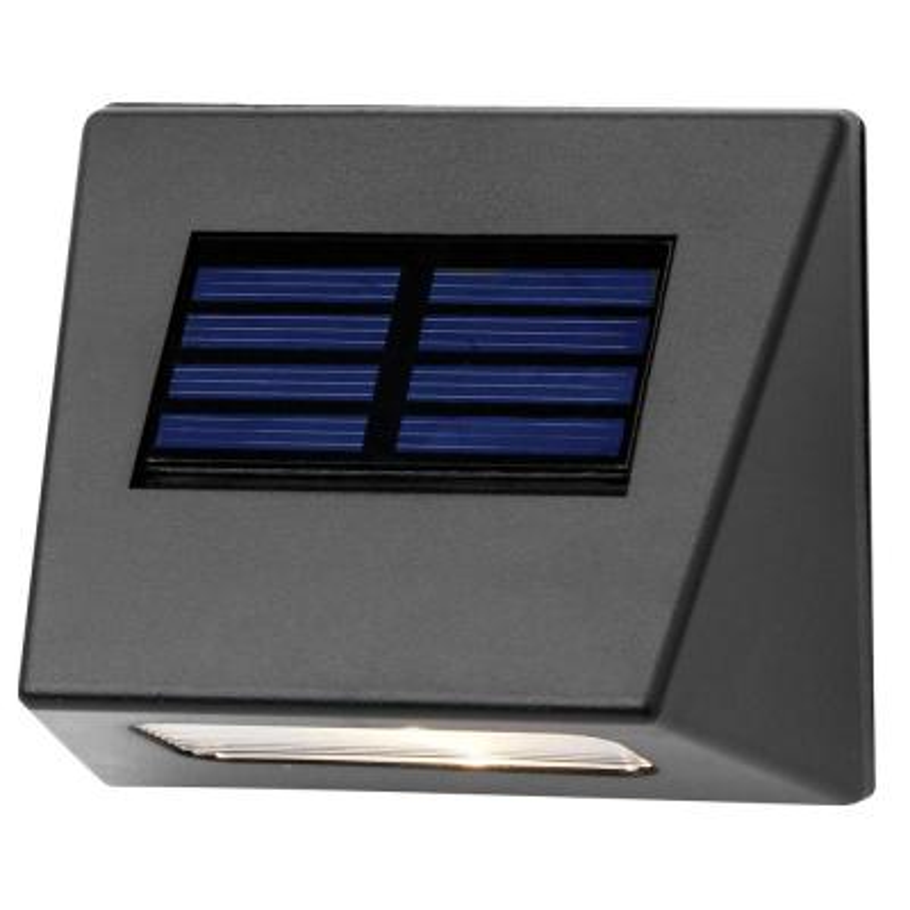 Solar Bronze Integrated LED Downcast Deck Light (4-Pack)