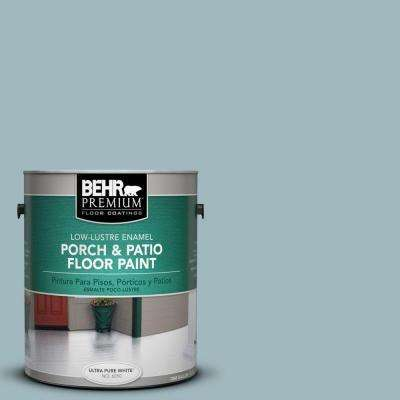 1-Gal. #PFC-52 Polar Drift Low-Lustre Porch and Patio Floor Paint