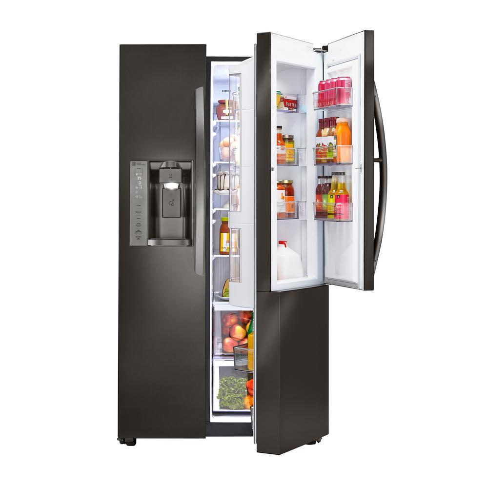 lg refrigerator black. +15 lg refrigerator black
