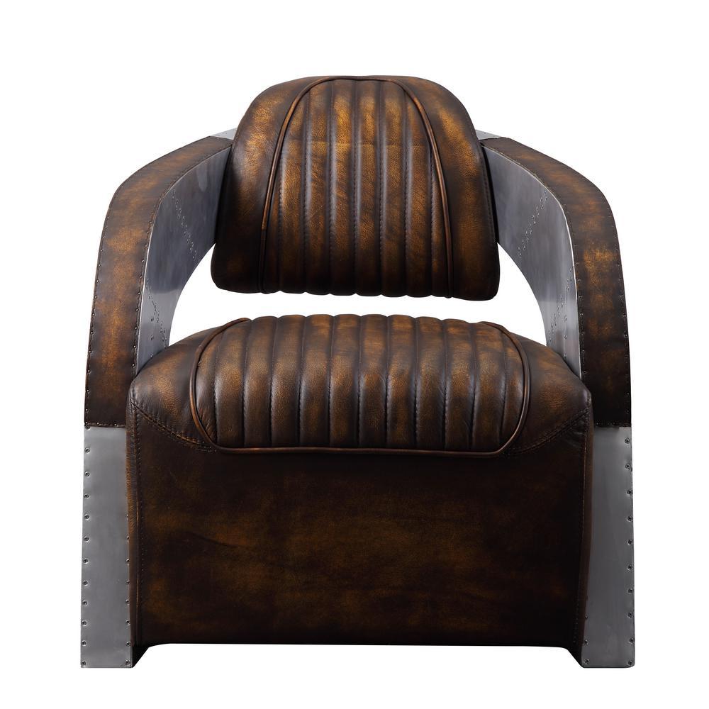 Remarkable Acme Furniture Brancaster Vintage Mocha Top Grain Leather Download Free Architecture Designs Grimeyleaguecom