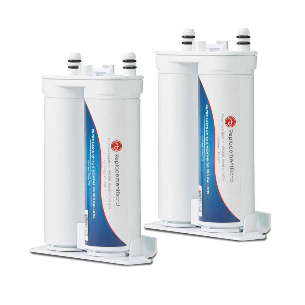 WF2CB Comparable Refrigerator Water Filter (2-Pack)