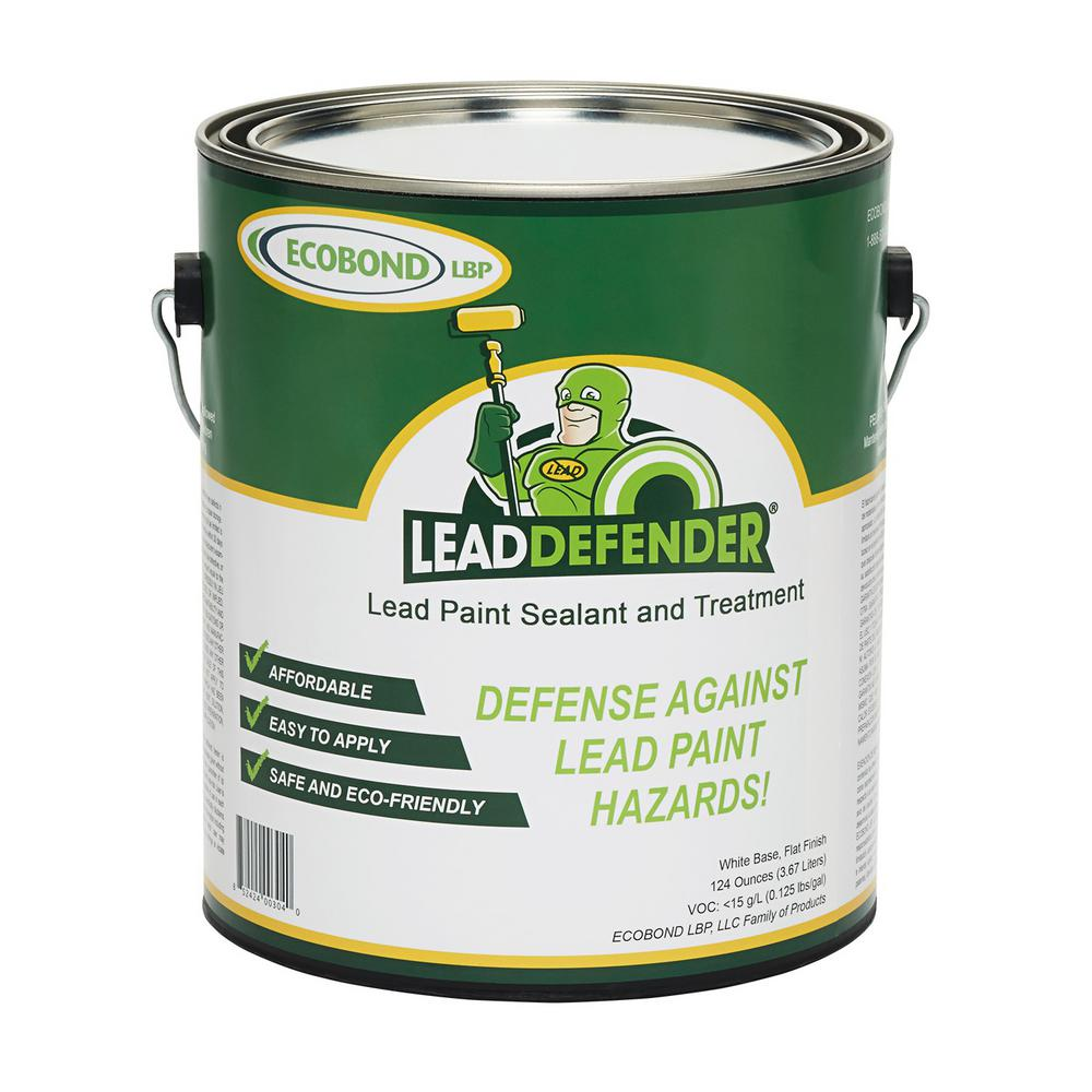 ECOBOND LBP Lead Defender 1-Gal Off White Flat Lead Based Paint Treatment and Sealant