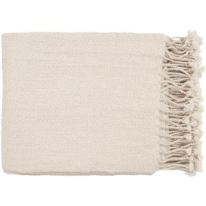Simone Ivory Throw Blanket