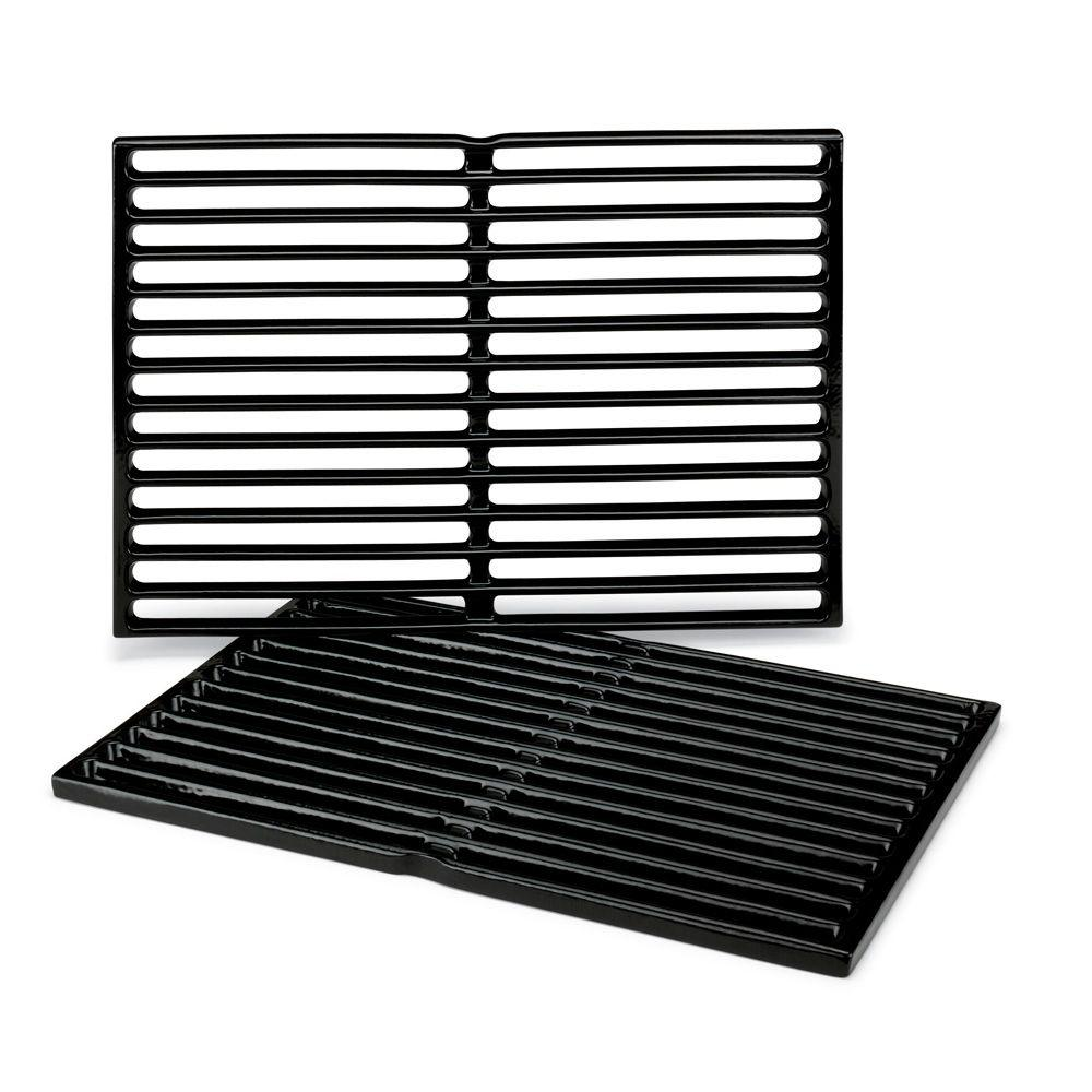 weber replacement cooking grates for genesis silver a. Black Bedroom Furniture Sets. Home Design Ideas