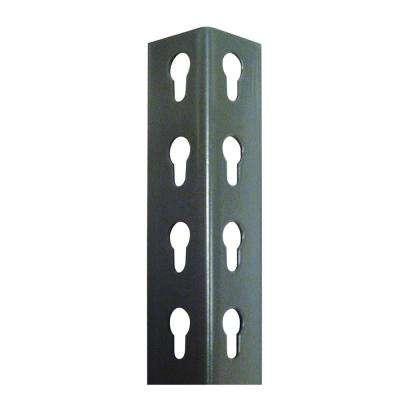 Series 200 2.5 Ft. H Individual Gray Steel Upright Post